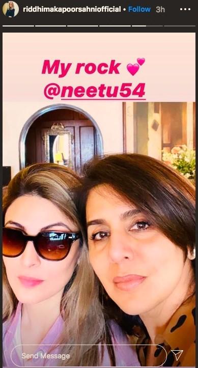 Riddhima Kapoor and Neetu
