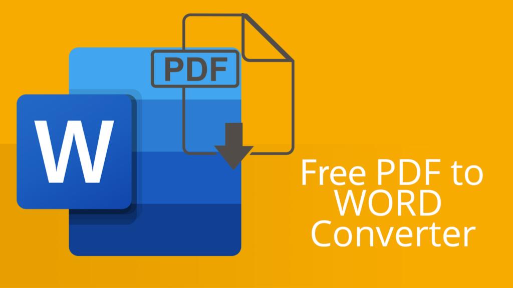 Convertidor de PDF a Word