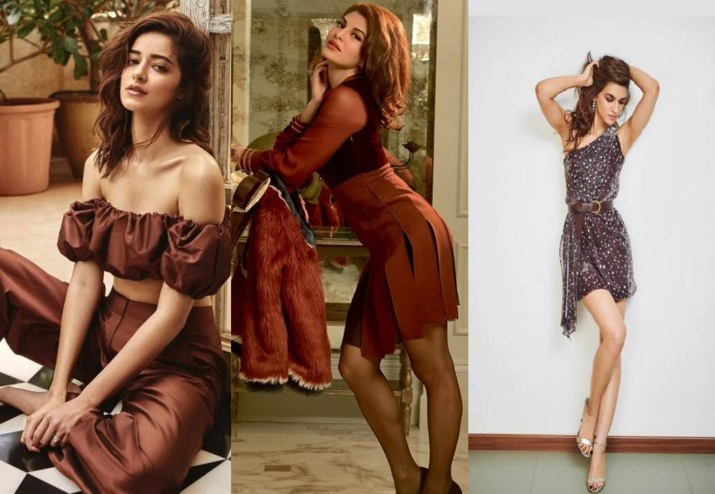 Kriti Sanon, Jacqueline Fernandez And Ananya Panday; Actresses Who look damn hot in Brown