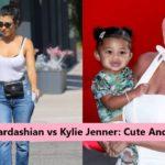 Kourtney Kardashian vs Kylie Jenner