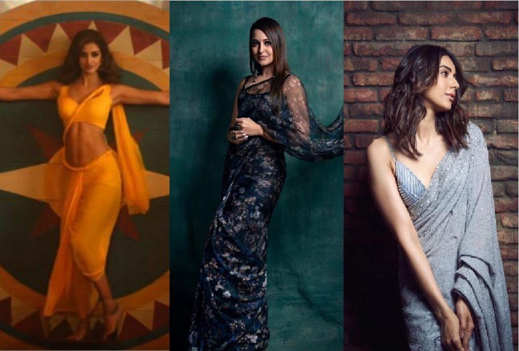 Sonakshi Sinha, Disha Patani and Rakul Preet Singh; Saree Looks