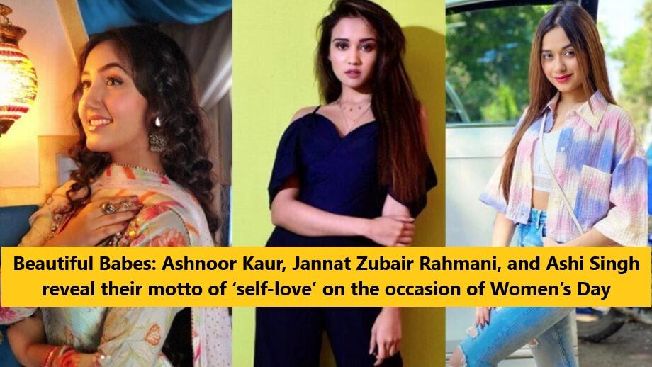 Ashnoor Kaur, Jannat Zubair Rahmani, and Ashi Singh