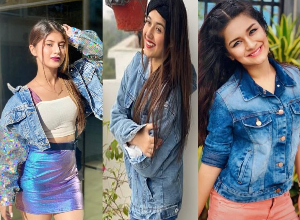 Avneet Kaur, Arishfa Khan, and Jannat Zubair styled The Denim Jacket
