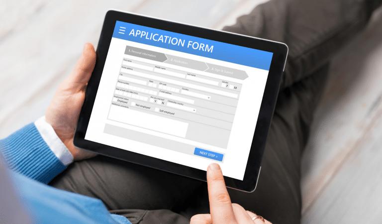 How do you write an application?