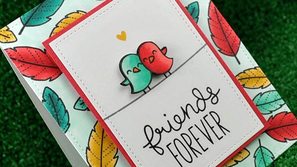 ideas de tarjetas del día de la amistad