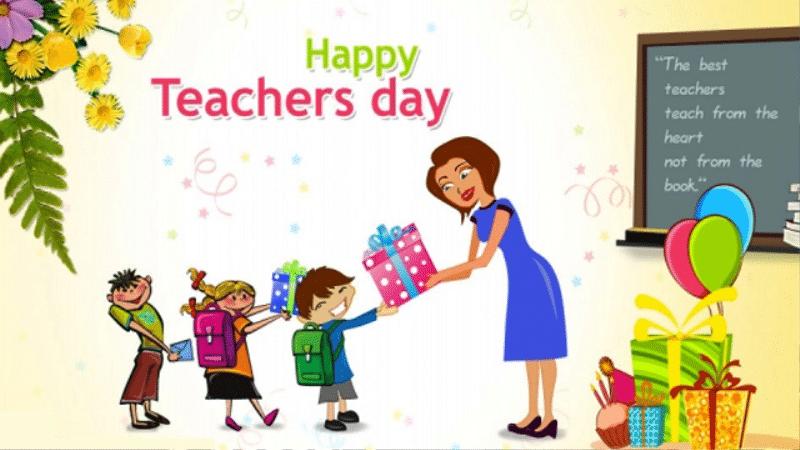 día de los profesores regalos hechos a mano