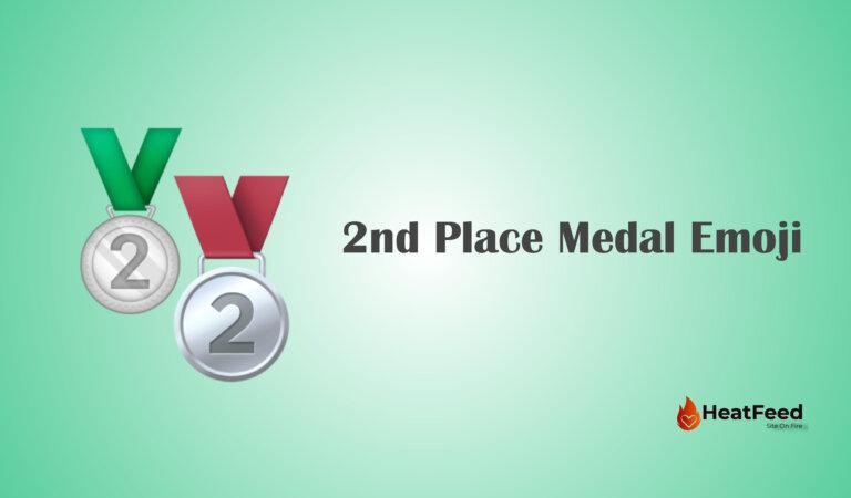 🥈 2nd Place Medal Emoji