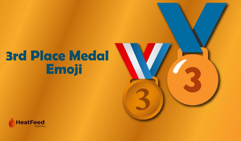 🥉 3rd Place Medal Emoji