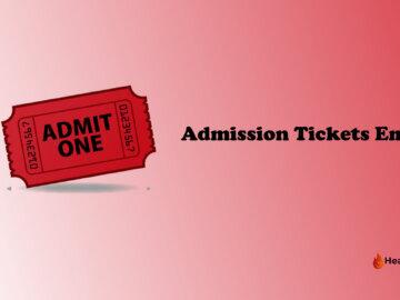 Admission Tickets Emoji