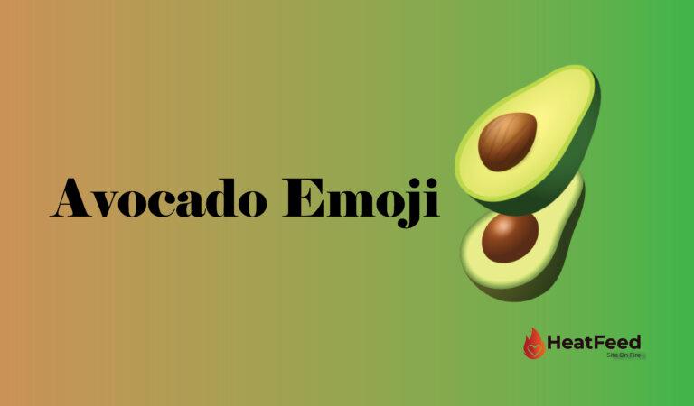 🥑Avocado Emoji