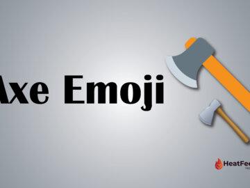 Axe emoji