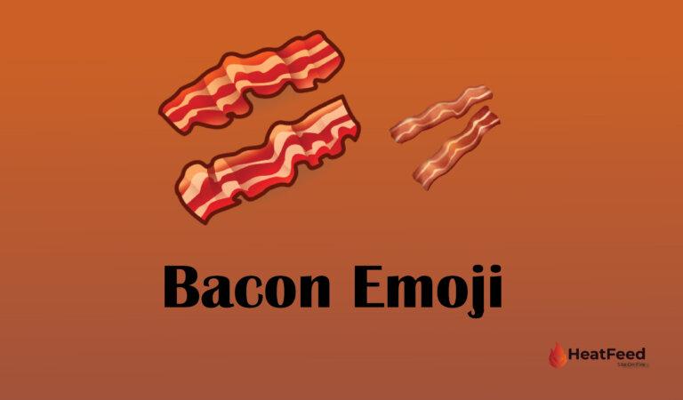 🥓 Bacon Emoji