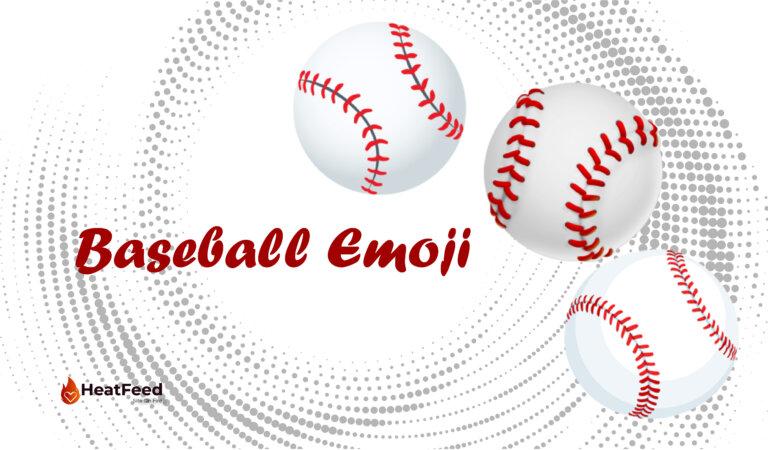 ⚾ Baseball Emoji