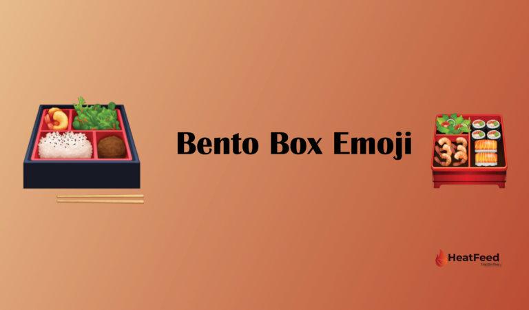 🍱 Bento Box Emoji