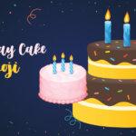 birthday cake emoji