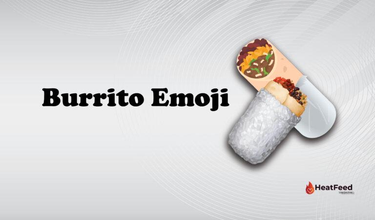 🌯 Burrito Emoji
