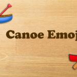 Canoe Emoji