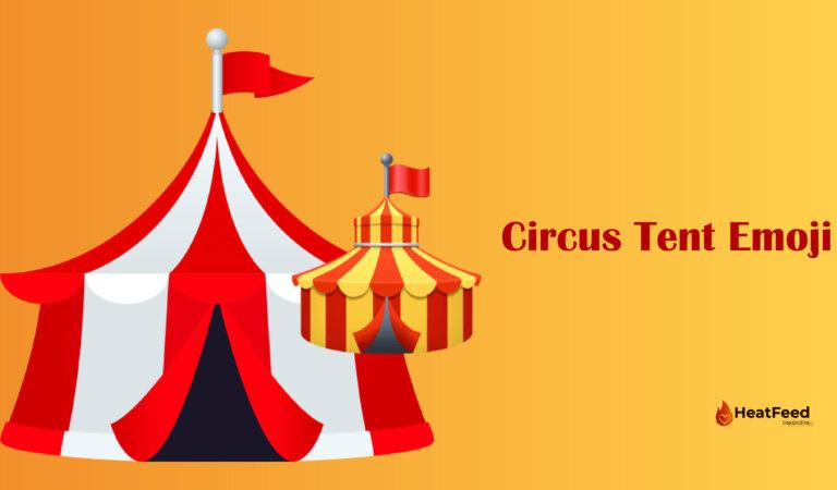 🎪 Circus Tent Emoji