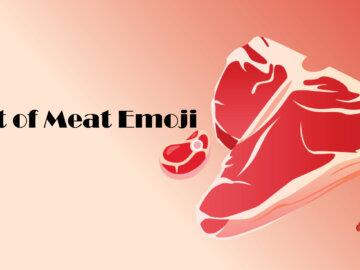 cut of meat emoji