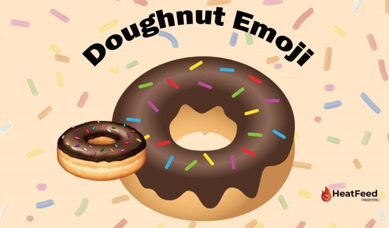 🍩 Doughnut Emoji