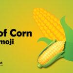 ear of corn emoji
