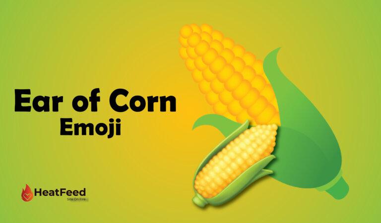 🌽Ear Of Corn Emoji