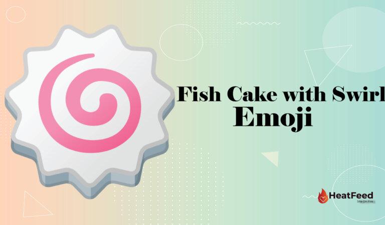 🍥 Fish Cake with Swirl Emoji