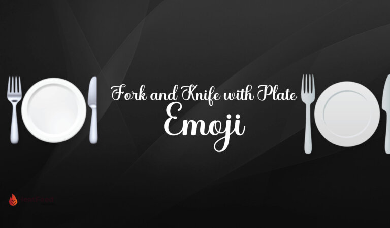 🍽 Fork and Knife with Plate Emoji
