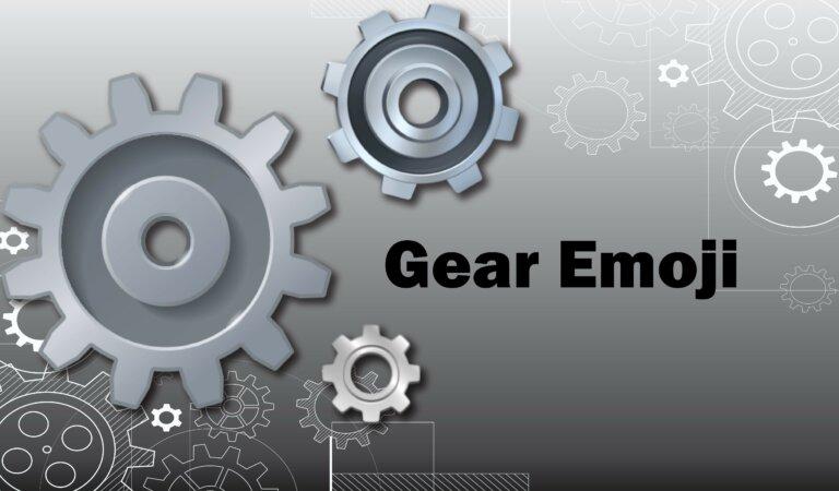 ⚙️ Gear Emoji