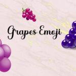 grapes emoji