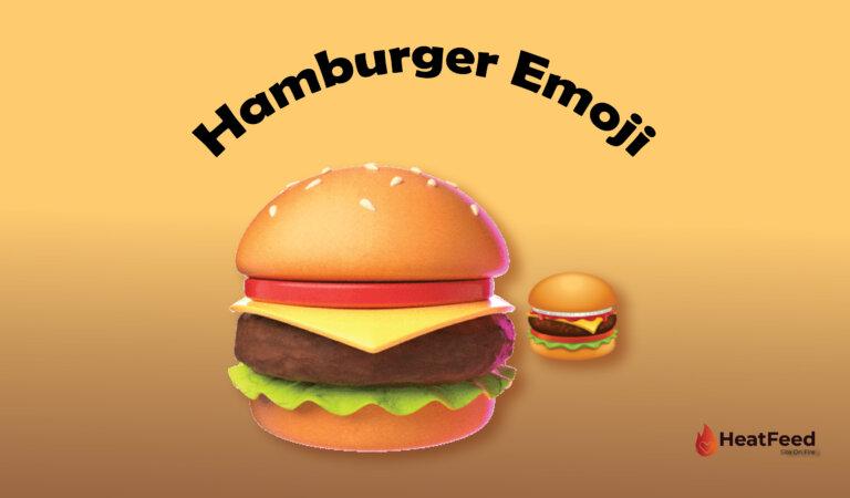 🍔 Hamburger Emoji