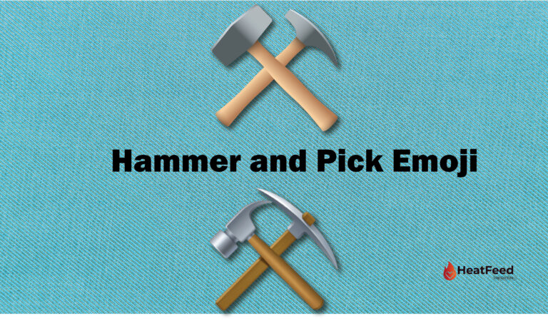 ⚒️ Hammer and Pick Emoji