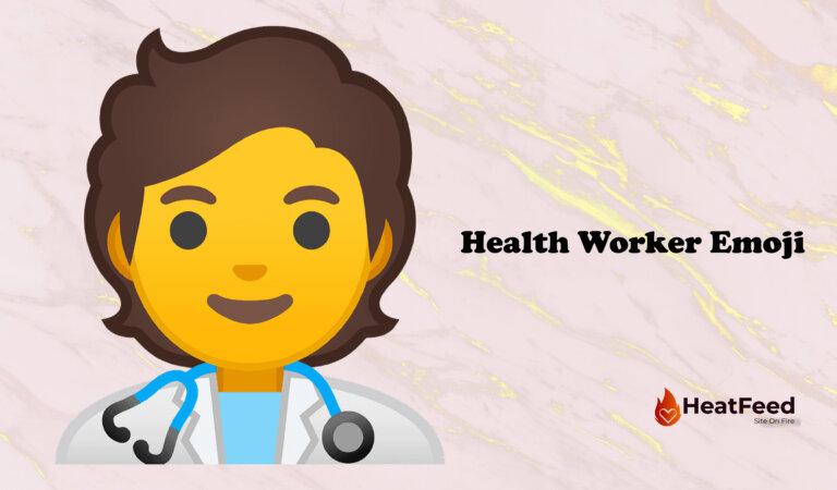 🧑⚕️ Health Worker Emoji
