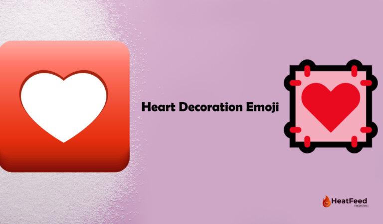 💟 Heart Decoration Emoji