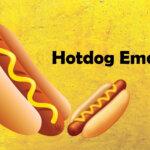 hotdog emoji