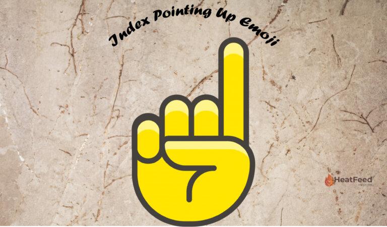 ☝️Index Pointing Up Emoji