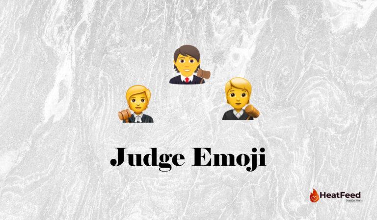 🧑⚖️ Judge Emoji