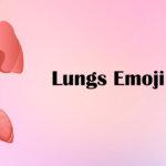 lungs emoji
