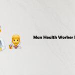 Man Health Worker Emoji