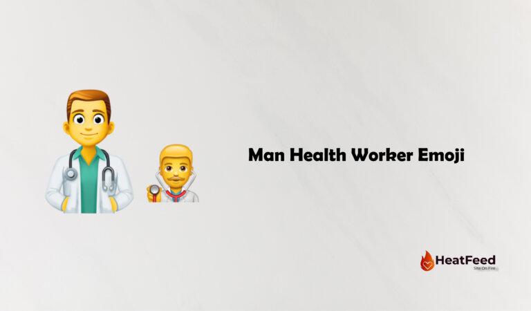 👨⚕️ Man Health Worker Emoji