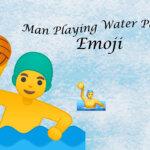 man playing water polo emoji