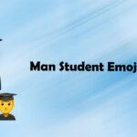 Man Student Emoji