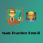 Man Teacher Emoji