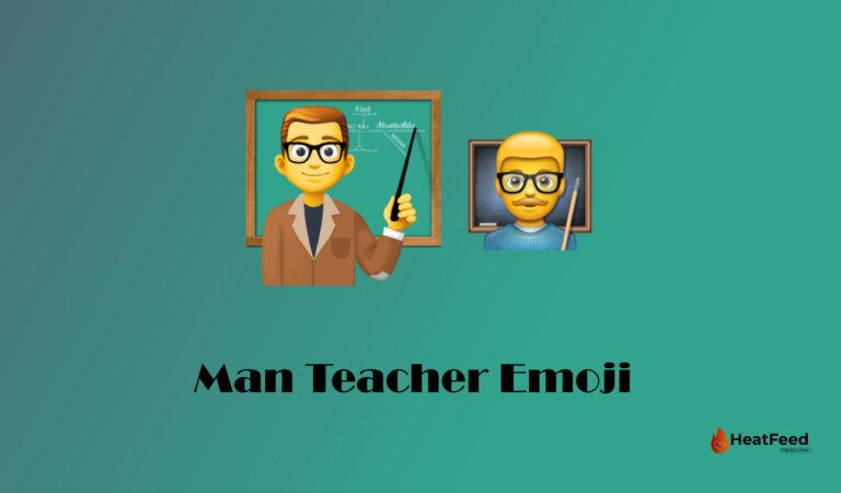 👨🏫 Man Teacher Emoji