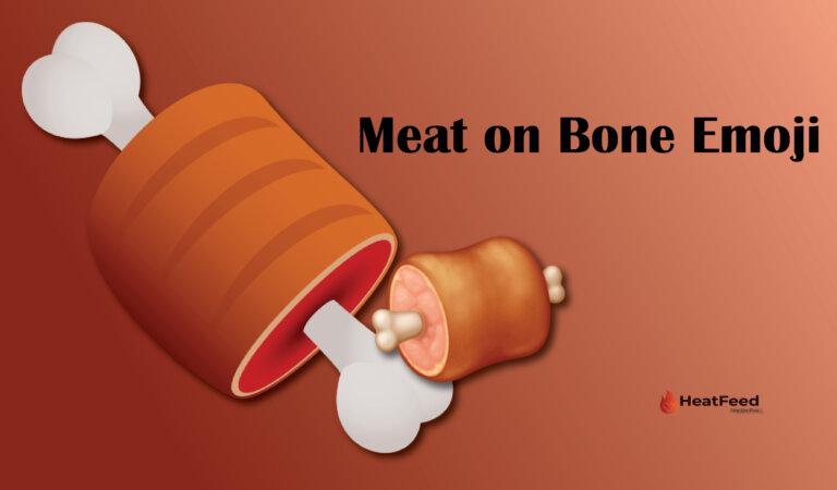 🍖 Meat On Bone Emoji