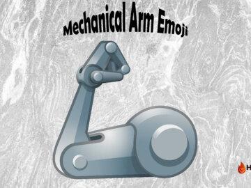 mechanical arm emoji