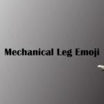 mechanical leg emoji