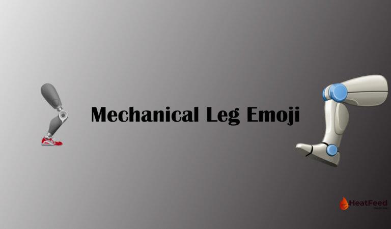 🦿Mechanical Leg Emoji