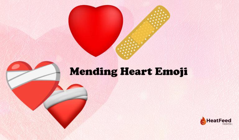❤️🩹 Mending Heart Emoji