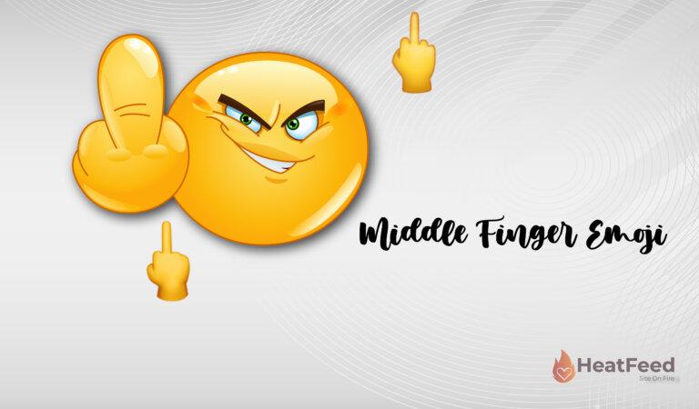 🖕 Middle Finger Emoji